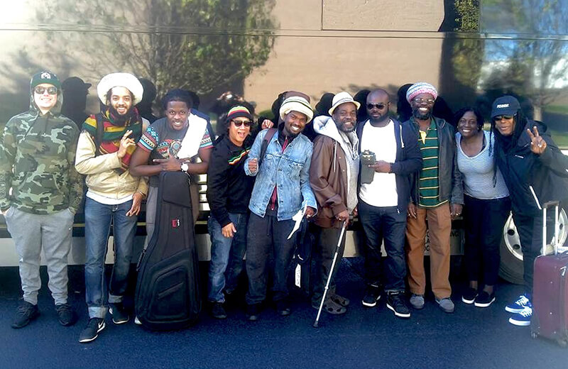 The Wailers full band shot