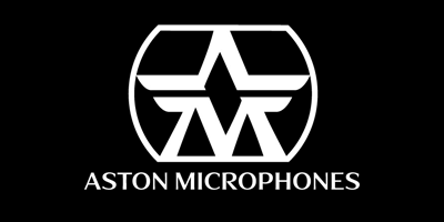 Aston Microphones Logo black and white