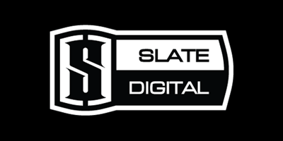 Slate Digital logo black and white