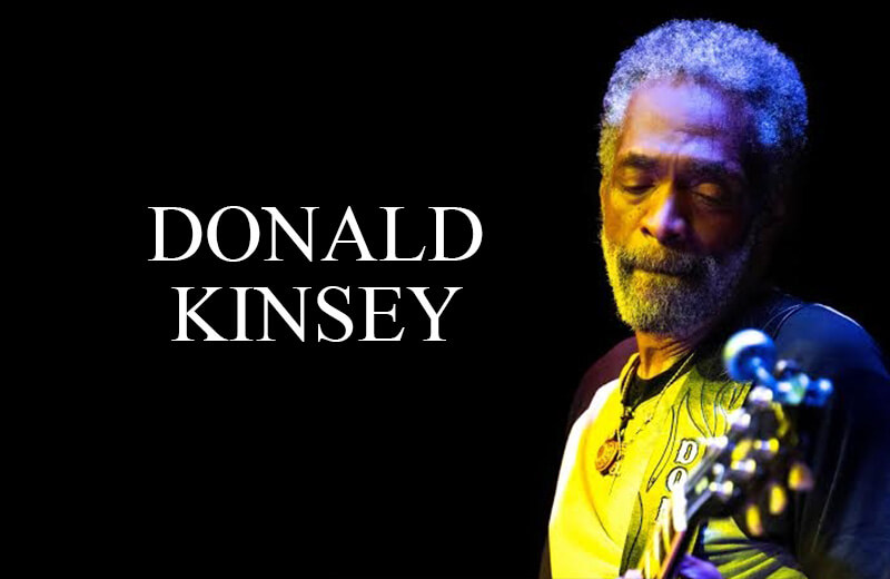 Donald Kinsey guitarist for The Wailers