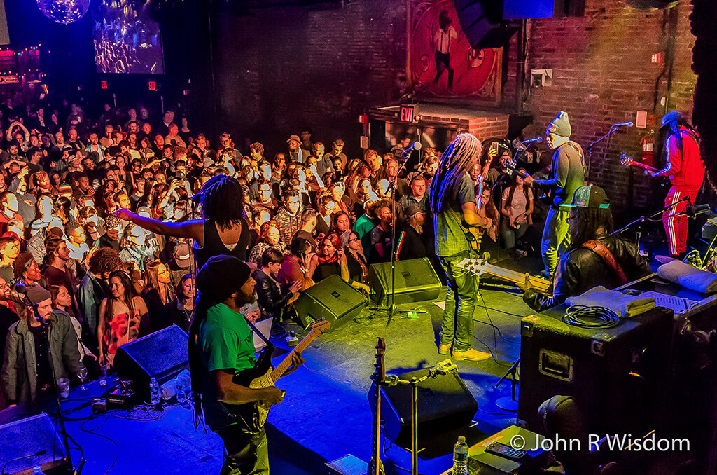 The Wailers live at the Brooklyn Bowl 2018