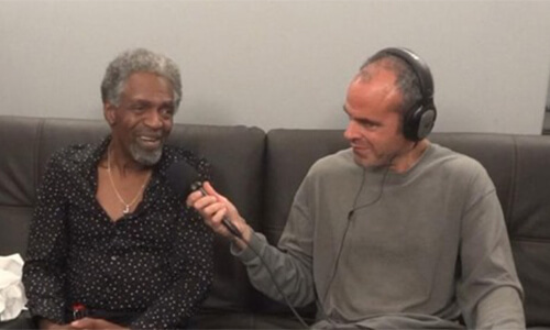 HPR's All Things Considered in the Dressing Room with The Wailers