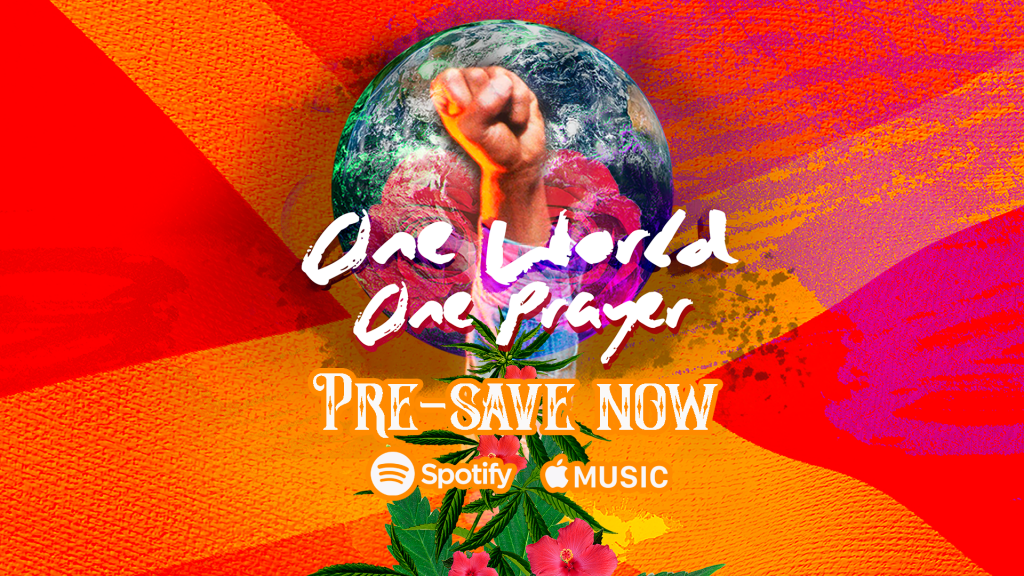 One World One Prayer feat. Skip Marley, Farruko, Shaggy and Cedella Marley is out May 22nd!