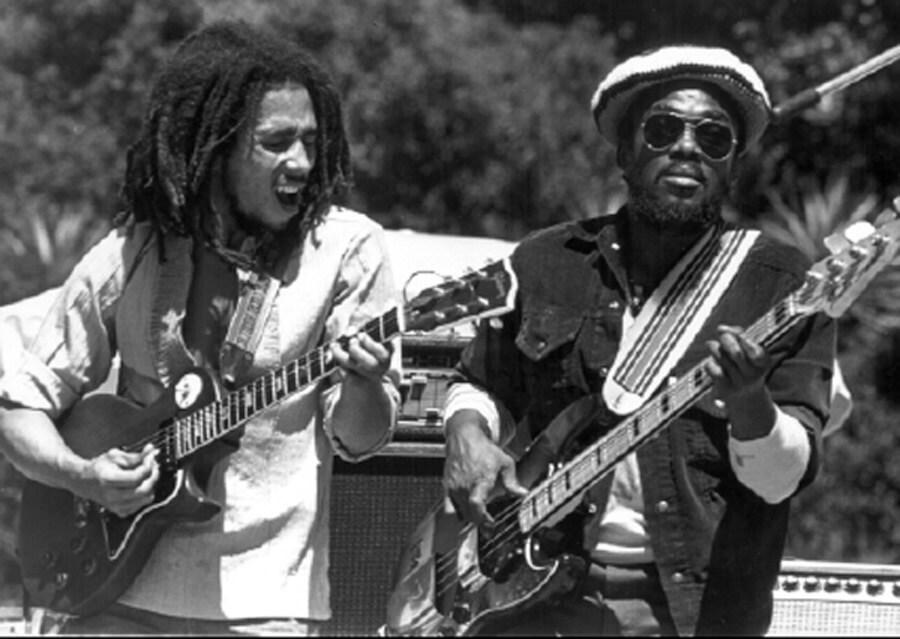 Bob Marley's quiet storm